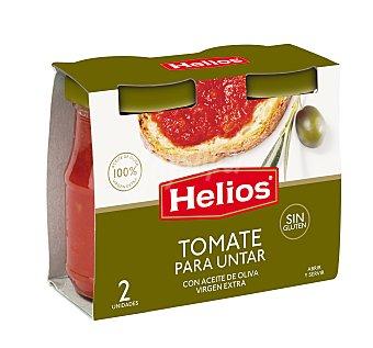 Helios Tomate para untar con aceite de oliva  Pack 2 u x 140 g