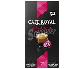 Café Royal Café Lungo Forte Paquete 10 monodosis