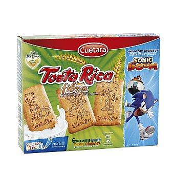 Cuétara Galletas tosta rica fibra paquete 570 gr Paquete 570 gr