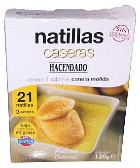 Hacendado Natillas caseras polvo con canela (21 raciones) Caja 120 g