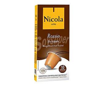 Café Rossio intenso en cápsulas, I 10 nicola 10 uds