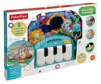 FISHER PRICE Manta de actividades, gimnasio y piano con luces y música, Pataditas 1 unidad