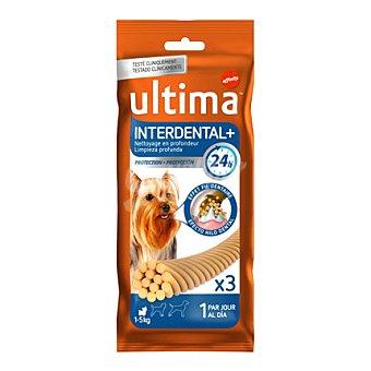 Ultima Affinity Snack interdental Pack de 3 x 30gr
