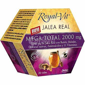 ROYAL-VIT jalea real con vitaminas 20 viales  envase 200 g