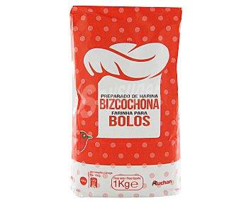 Auchan Preparado de harina para bizcochos 1 kilogramo