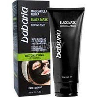 Babaria Mascarilla facial negra tubo 100 ml