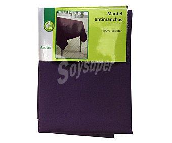 PRODUCTO ECONÓMICO ALCAMPO Mantel 100% poliéster, color morado liso, 140x140 centímetros 1 Unidad