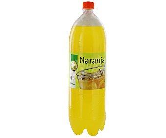 Productos Económicos Alcampo Refresco de naranja (bebida refrescante aromatizada con azúcares y edulcorantes) Botella de 2 litros
