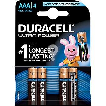 Pila modelo m3 alcalina AAA 4 - 1,5 voltios blister 4 unidades