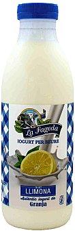 La Fageda Yogur Líquido de Limón La Fageda 650 ml