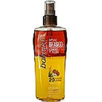 Babaria Aceite solar bifásico coco-aloe F20 Spray 200 ml