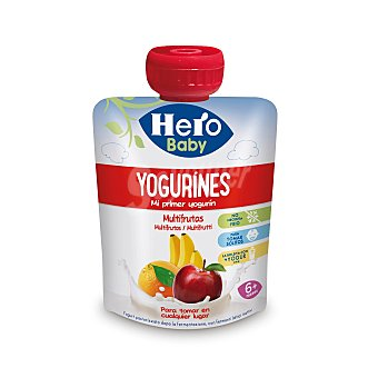 Hero Baby Yogurines multifrutas en bolsita 80 g