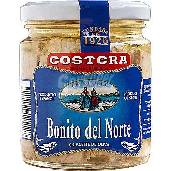 Costera Bonito en aceite de oliva Frasco 160 g neto escurrido