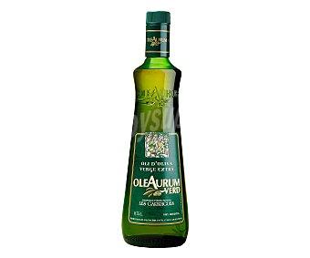 Oleaurum Aceite de oliva virgen extra D.O. Les Garrigues Botella 750 ml
