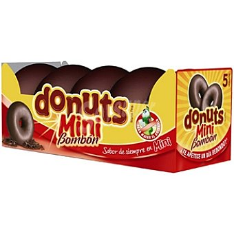 Donuts Mini bombón  5 unidades (125 g)