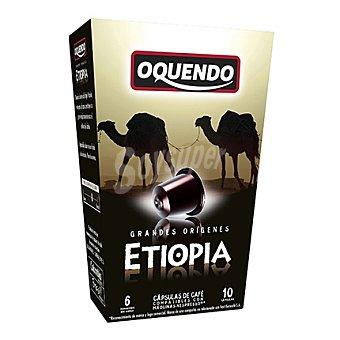 Oquendo Cápsulas de café Etiopia 10 ud