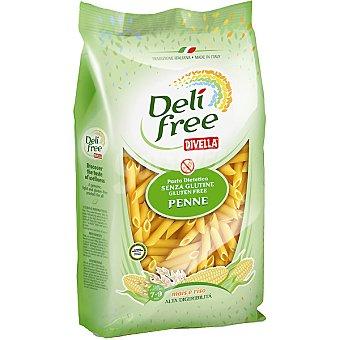 DIVELLA DELI FREE Penne de maíz y arroz sin gluten Envase 500 g