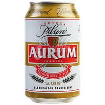 Aurum Cerveza Lata 33 cl