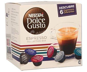 Dolce Gusto Nescafé Café molido de tueste natural espresso 12 unidades