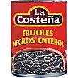Frijoles negros enteros Lata 560 g La Costeña