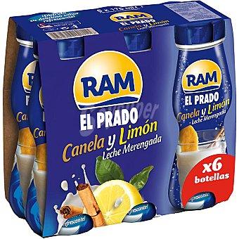 RAM El Prado Batido de leche merengada con canela y limón Pack 6 envases 175 ml