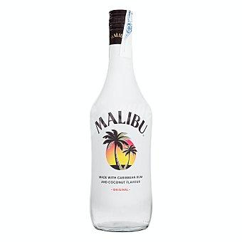 Malibu Ron blanco caribeño con sabor a coco Botella de 70 cl