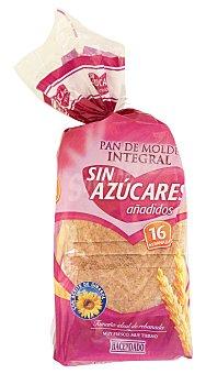 Hacendado Pan molde integral sin azucar añadido  Paquete 460 g ( 16 rebanadas )