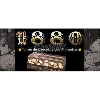 1880 Turrón de chocolate con almendras Tableta 300 g