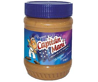 Capitán Maní Crema de cacahuete crujiente 510 g