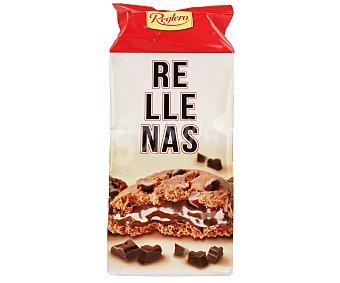 Reglero Cookies con pepitas de chocolate rellenas de chocolate 200 gramos