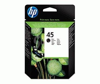 HP Cartuchos de Tinta N45 Negro 1 Unidad