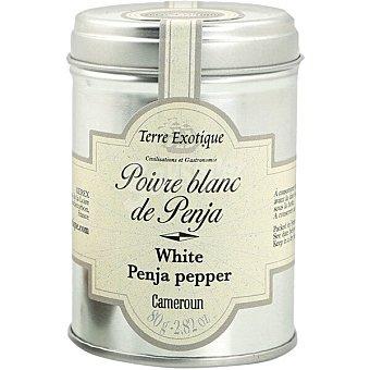 TERRE EXOTIQUE Pimienta blanca de Penja en grano Bote 80 g