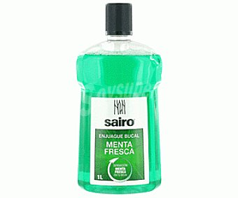 Sairo Enjuague Bucal Menta Fresca 1000ml