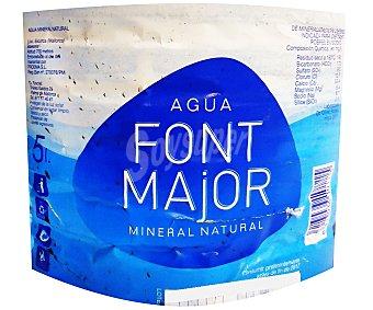Font Major Agua de manantial Garrafa de 5 l
