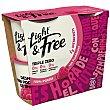 Yogur 0% materia grasa, sin edulcorantes artificiales ni azucares añadidos y con frambuesa 4 x 115 g Light & Free Danone