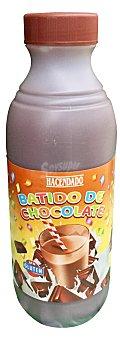 Hacendado Batido de chocolate (90% leche) sin gluten Botella de 1 l