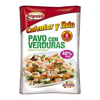 Fripozo Pavo con verduras 408 g