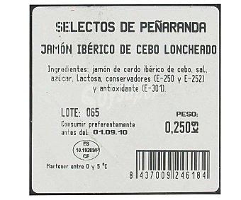 PEÑARANDA Jamón Ibérico Sobre de 250 Gramos