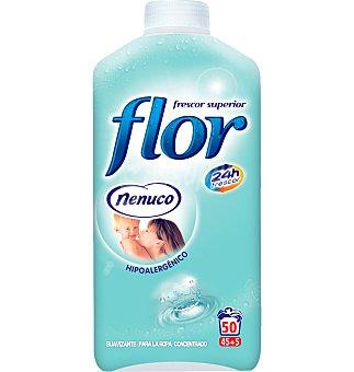 Flor Suavizante concentrado colonia Botella 1035 ml - 45 lavados