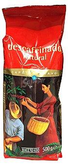 Hacendado Café grano descafeinado Nº3 (medio) Paquete de 500 g