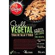 Tiras de soja y trigo 100% vegetal 2x75g Bandeja 150 g Cereal grill vegetal