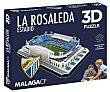 Puzzle 3D Estadio La Rosaleda de 100 piezas, FORCE. Eleven Force