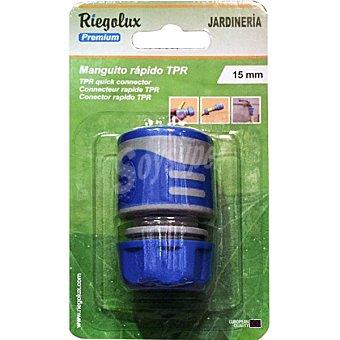 """BM Conector rapido de manguera 3/4"""" color azul"""