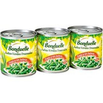 Bonduelle Judía verde Pack 3x110 g