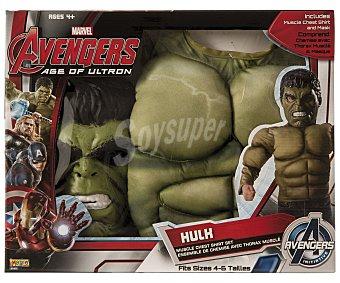 MARVEL Hulk Disfraz infantil Hulk talla M, 5-7 años, Los Vengadores MARVEL