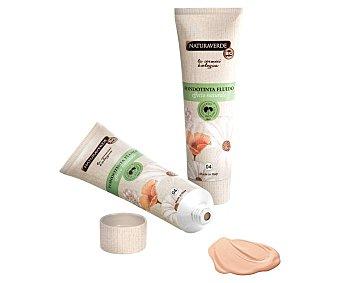 Naturaverde Fondo de maquillaje con textura líquida y cremosa, tono 004 Capuccino NATURAVERDE.