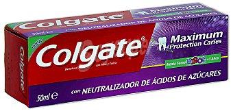 Colgate Dentífrico Maximum caries niños 50 ml