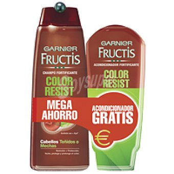 Fructis Garnier Champú Color Resist Bote 300 ml + Acondicionador