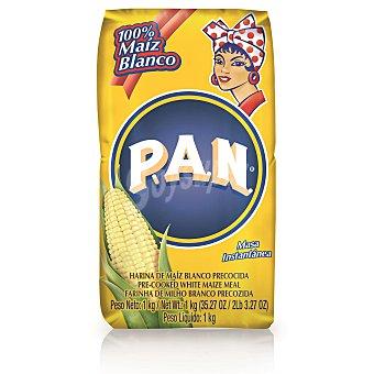 P.A.N. harina de maíz amarilla precocida paquete 1 kg