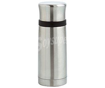FAGOR Tekno Termo para líquidos fabricado en acero inoxidable, con doble pared y cámara de vacío, 0,75 litros, Tekno FAGOR. 0,75 litros